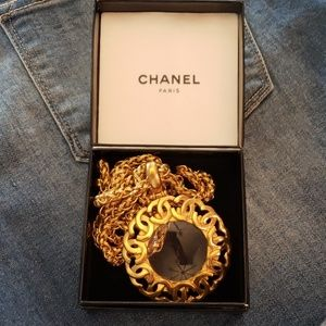 Chanel Vintage Magnifying Necklace 95